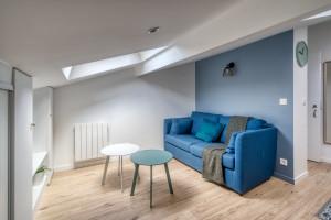Superbe studio meublé de 16 m2 entièrement refait à neuf, tout proche de la place Jean Jaurès ! FRAIS D'AGENCE OFFERTS
