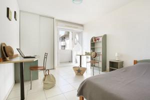 Photo Appartement T1 Bis Duplex de 30 m² terrasse ou balcon n° 1