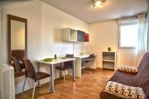 Photo T2 de 32m² meublé et équipé à 540.00 € n° 1