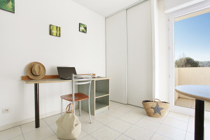 Photo Appartement T1 Bis Duplex de 30 m² terrasse ou balcon n° 2