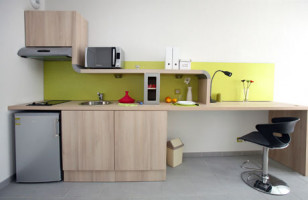 Photo Apartment type T1, furnished and equipped 25m², student residence Marseille n° 1