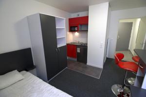 Photo Studio de 25 m² avec lit double n° 1