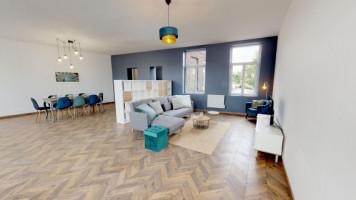 COLOCATION T6 PAR CHAMBRE meublée dans un duplex de 165m2  - 400€ CC