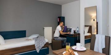 Photo Studio de 22m² à 27m² à partir de 540€ HC par mois n° 2