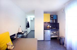 Photo Studio dans une résidence étudiante neuve et moderne n° 4