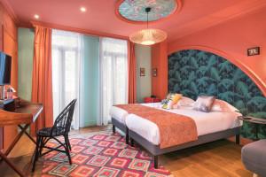 Photo Chambre double/twin standard de de 15 à 17m² meublé n° 6