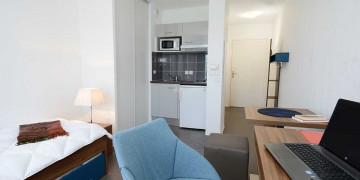 Photo Studio meublé 19 m² n° 11