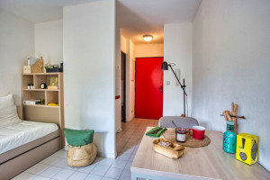 Photo T1 bis furnished 33m² in a student residence in Nîmes n° 9