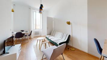 Magnifique T2 meublé de 34,5 m² à la Capelette