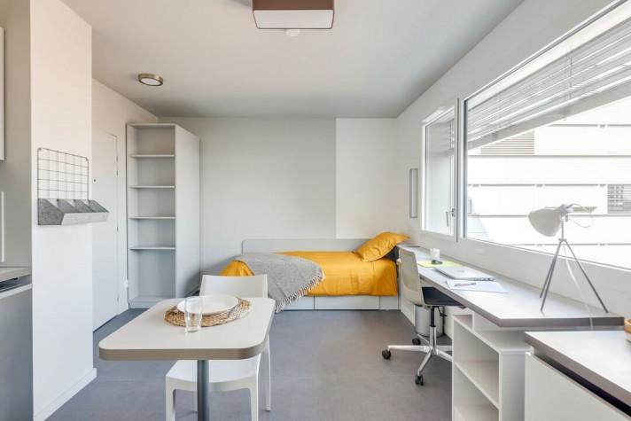 THE ROOM : Studio Individuel de 17 à 19m² meublé et équipé photo n° 4