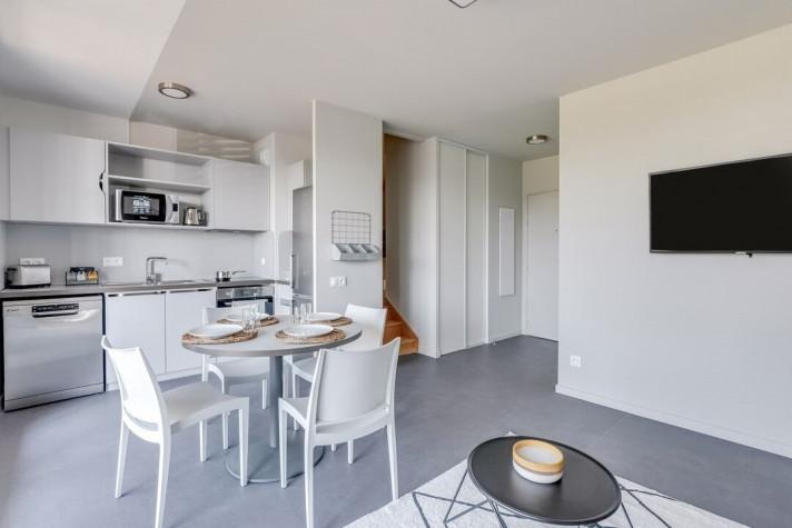 THE ROOMATE : Colocation 2 pers. dans T3 de 46 à 59m² meublé et équipé (tarif par chambre) photo n° 3