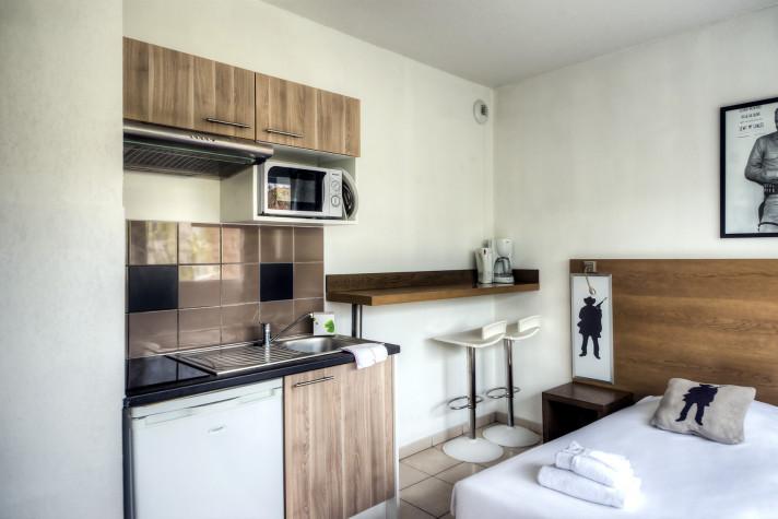 Studio de 20m² rez-de-chaussée avec terrasse photo n° 1